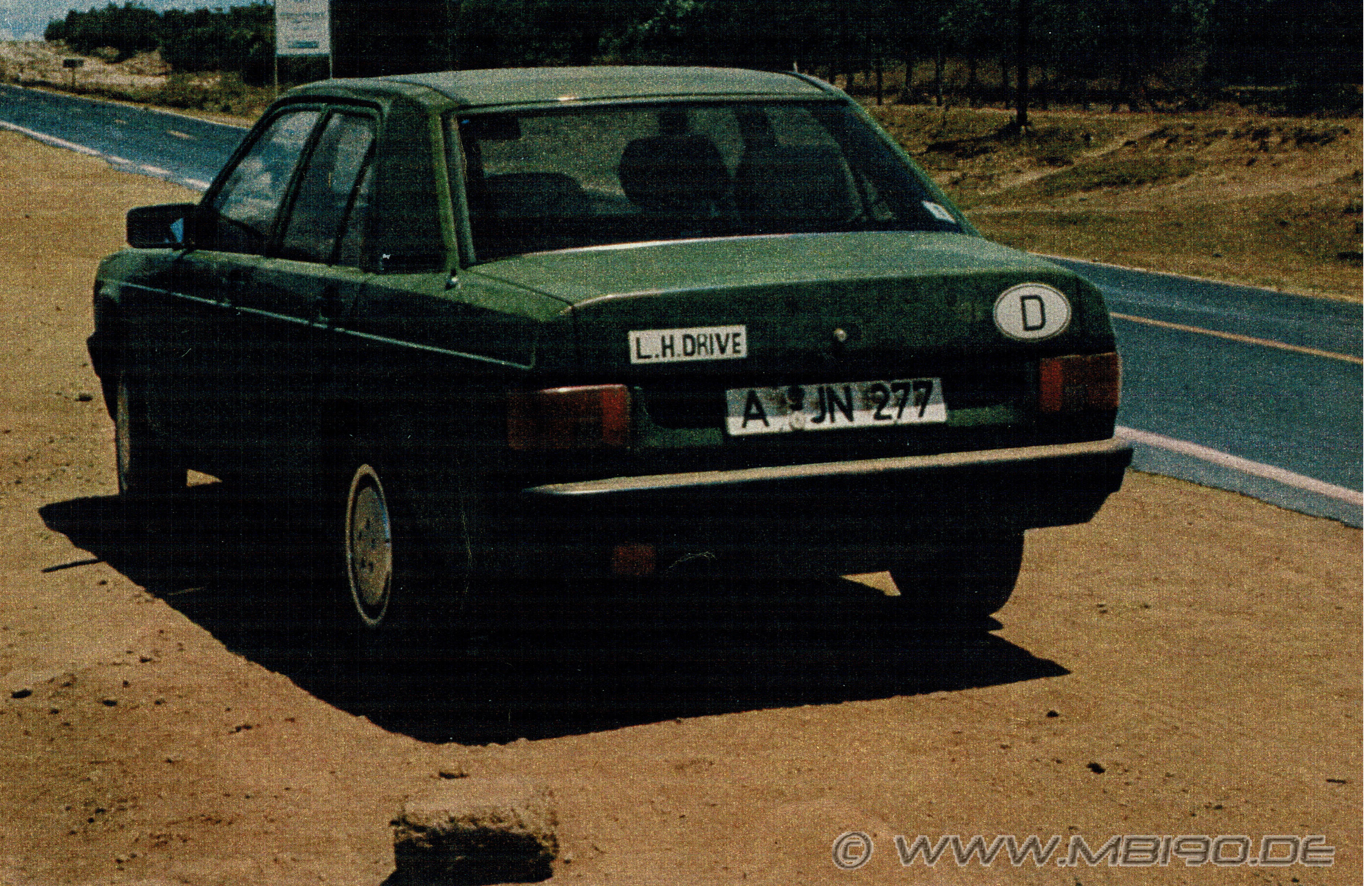Michas Mercedes 190er W201 Homepage: ERLKÖNIG / VORSERIE